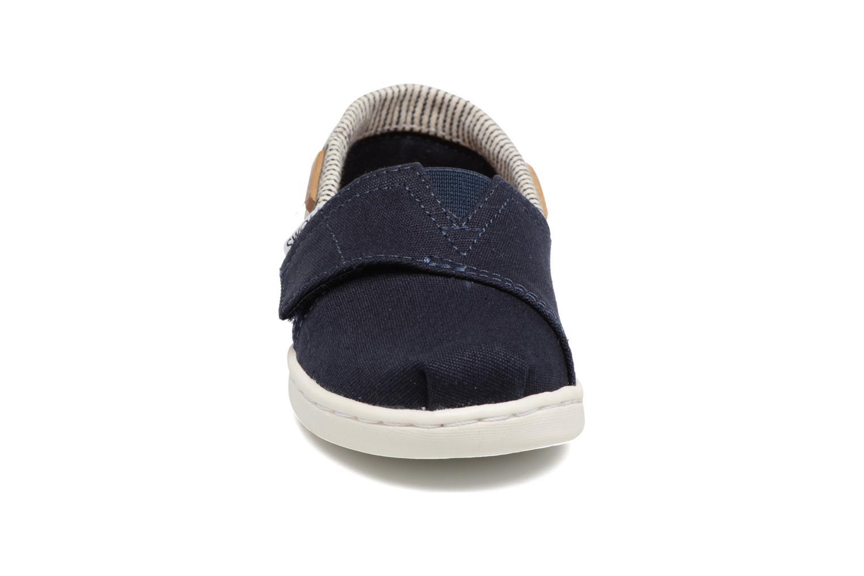 Baskets TOMS Bimini Espadrille Bleu vue portées chaussures