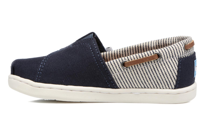 Sneaker TOMS Bimini Espadrille blau ansicht von vorne