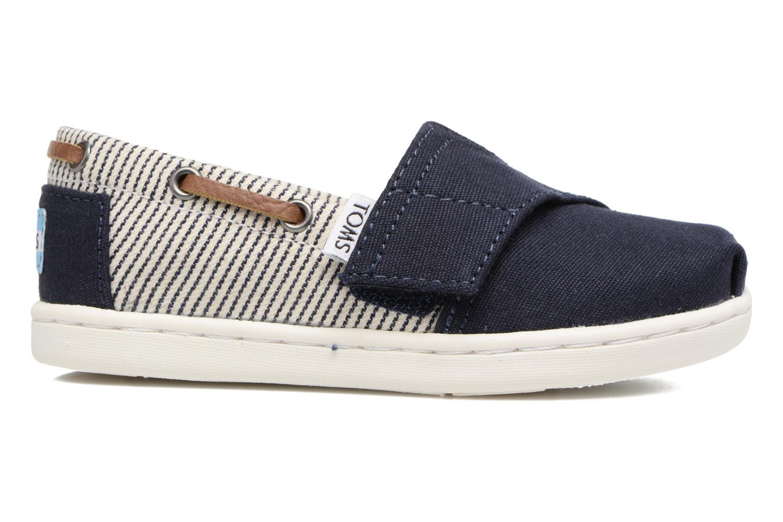Sneaker TOMS Bimini Espadrille blau ansicht von hinten