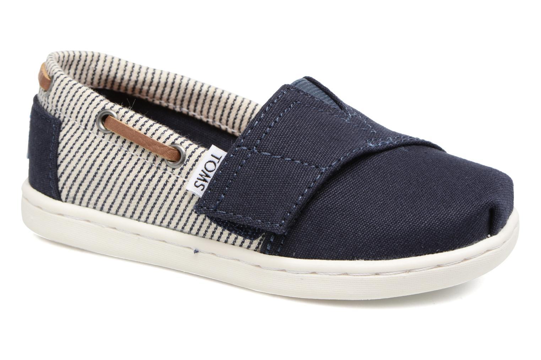 Sneaker TOMS Bimini Espadrille blau detaillierte ansicht/modell
