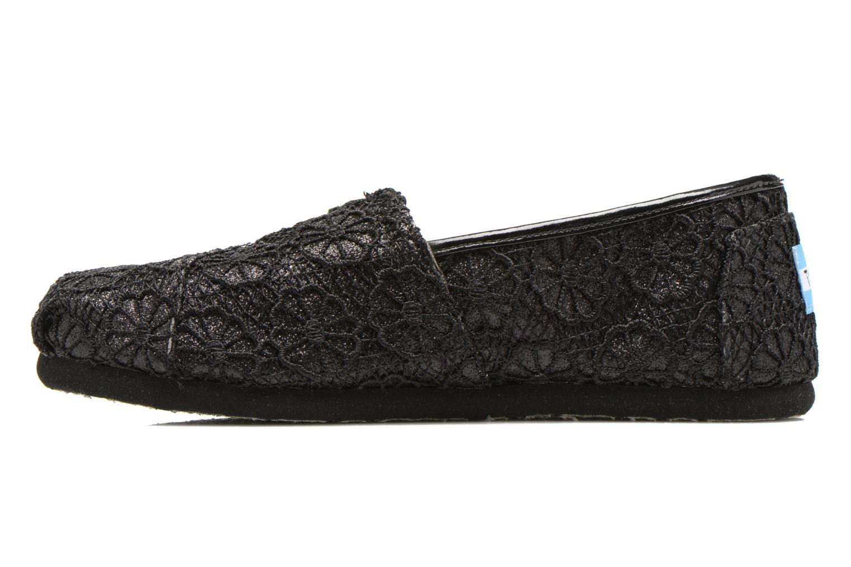 Sneaker TOMS Seasonal Classics schwarz ansicht von vorne