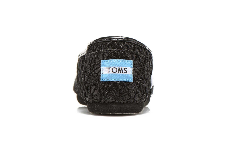 Sneaker TOMS Seasonal Classics schwarz ansicht von rechts