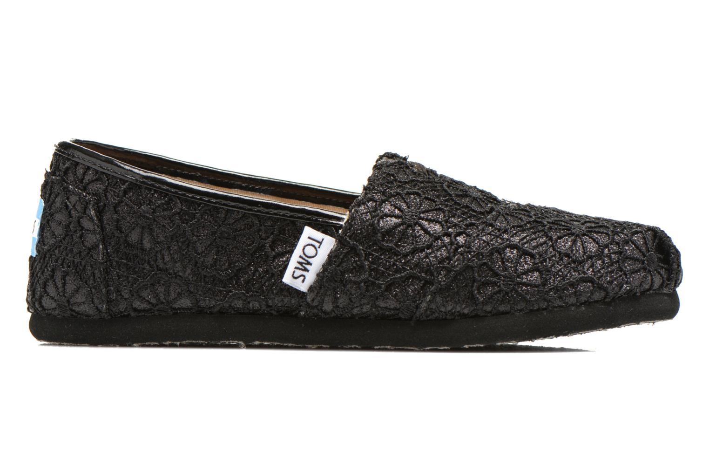 Sneaker TOMS Seasonal Classics schwarz ansicht von hinten