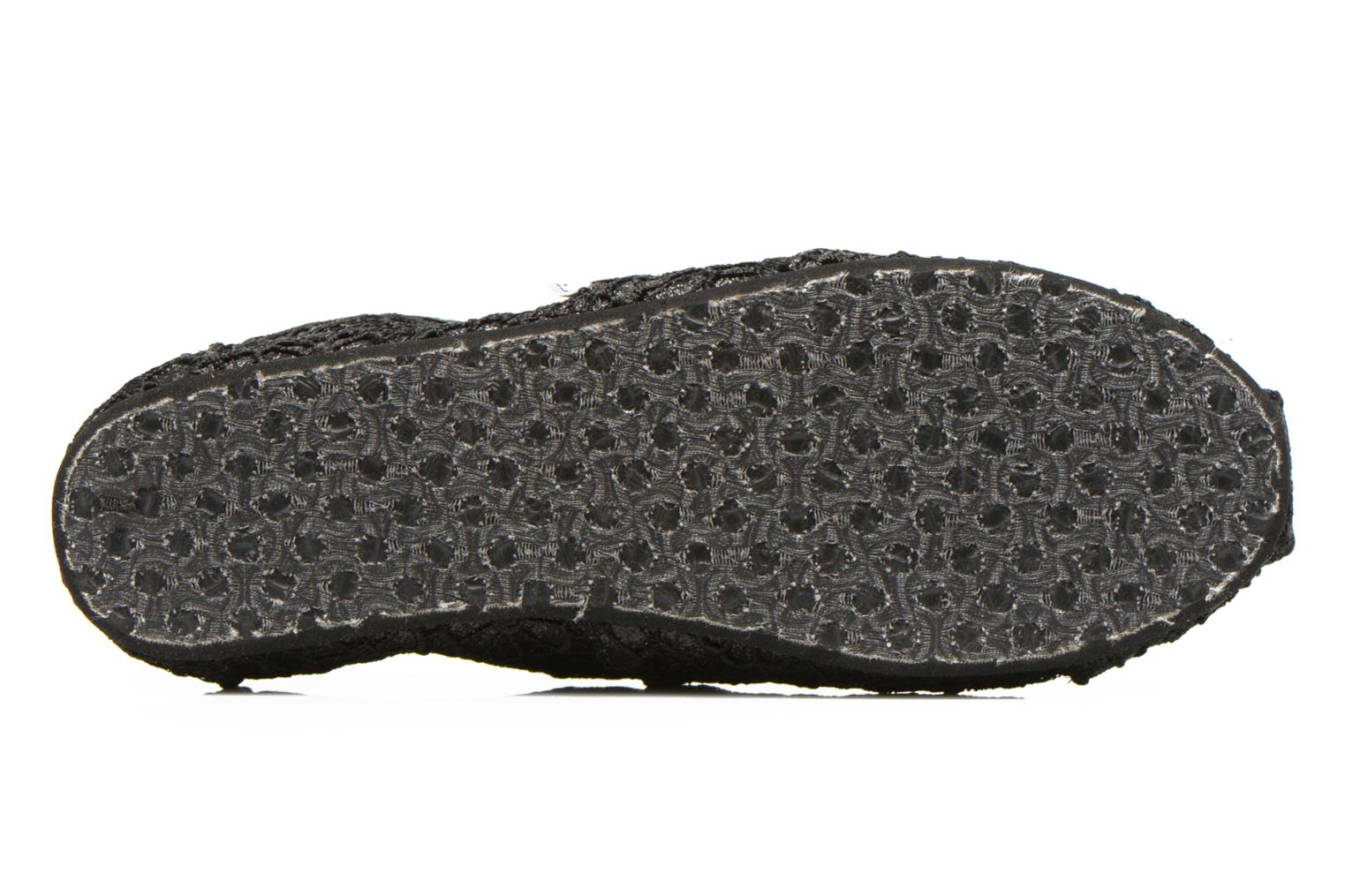 Trainers TOMS Seasonal Classics Black view from above