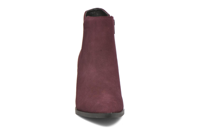 Bottines et boots Buffalo Tida Bordeaux vue portées chaussures