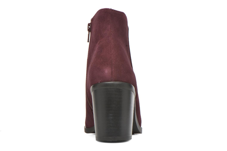 Bottines et boots Buffalo Tida Bordeaux vue droite