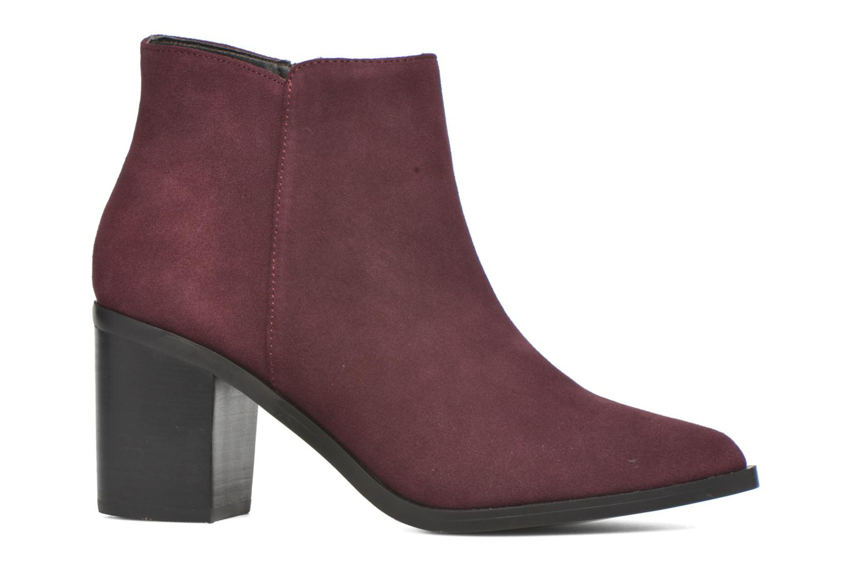 Bottines et boots Buffalo Tida Bordeaux vue derrière
