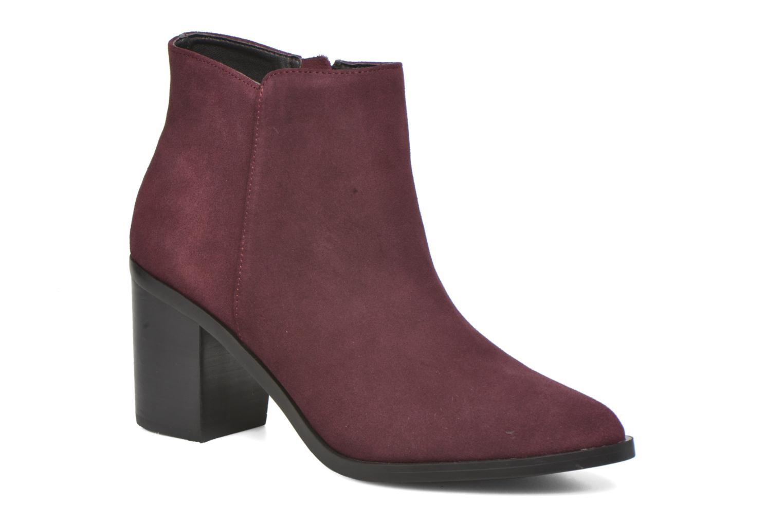 Bottines et boots Buffalo Tida Bordeaux vue détail/paire