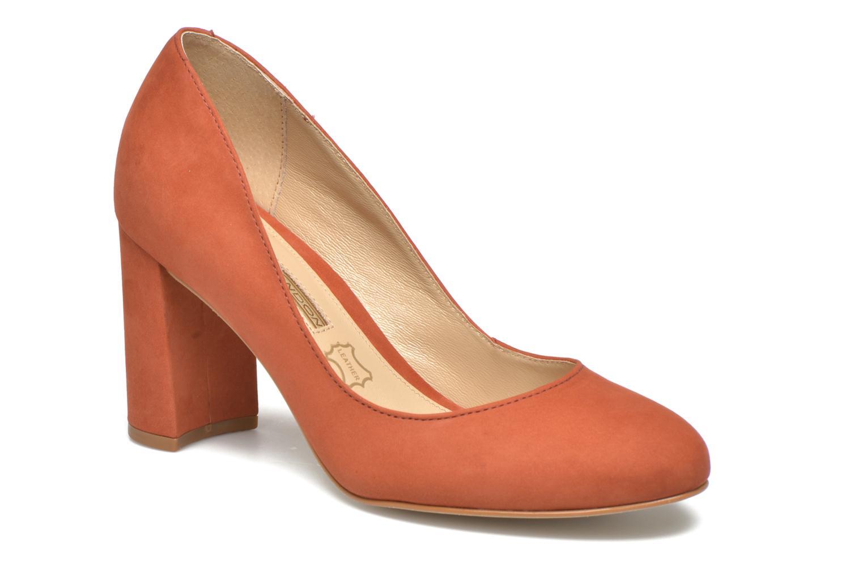 High heels Buffalo Qilda Brown detailed view/ Pair view