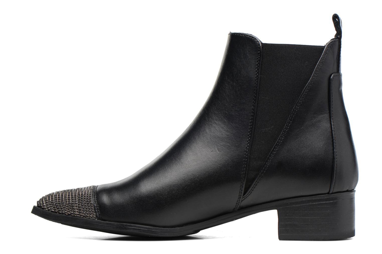 Bottines et boots Bronx Carter Noir vue face