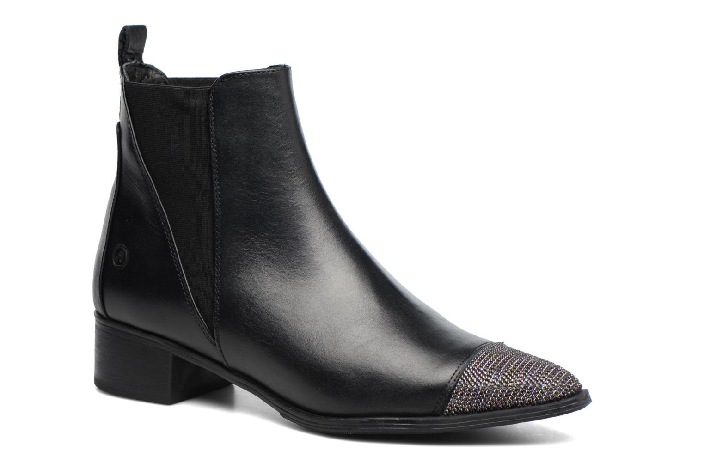 Bottines et boots Bronx Carter Noir vue détail/paire