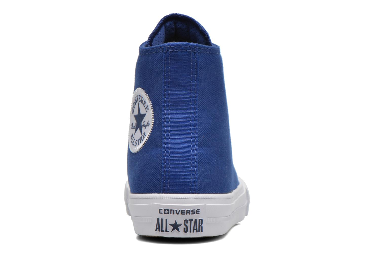 Deportivas Converse Chuck Taylor All Star II Hi Azul vista lateral derecha