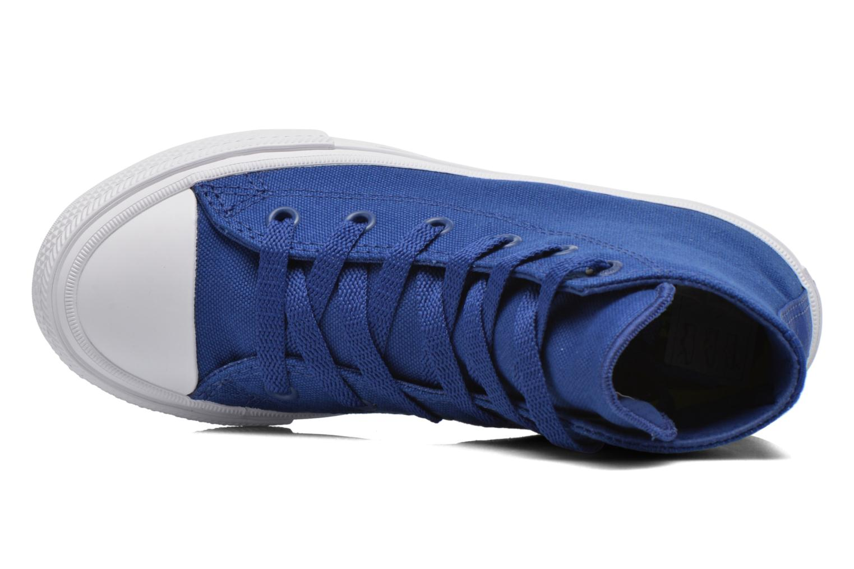 Sneakers Converse Chuck Taylor All Star II Hi Azzurro immagine sinistra