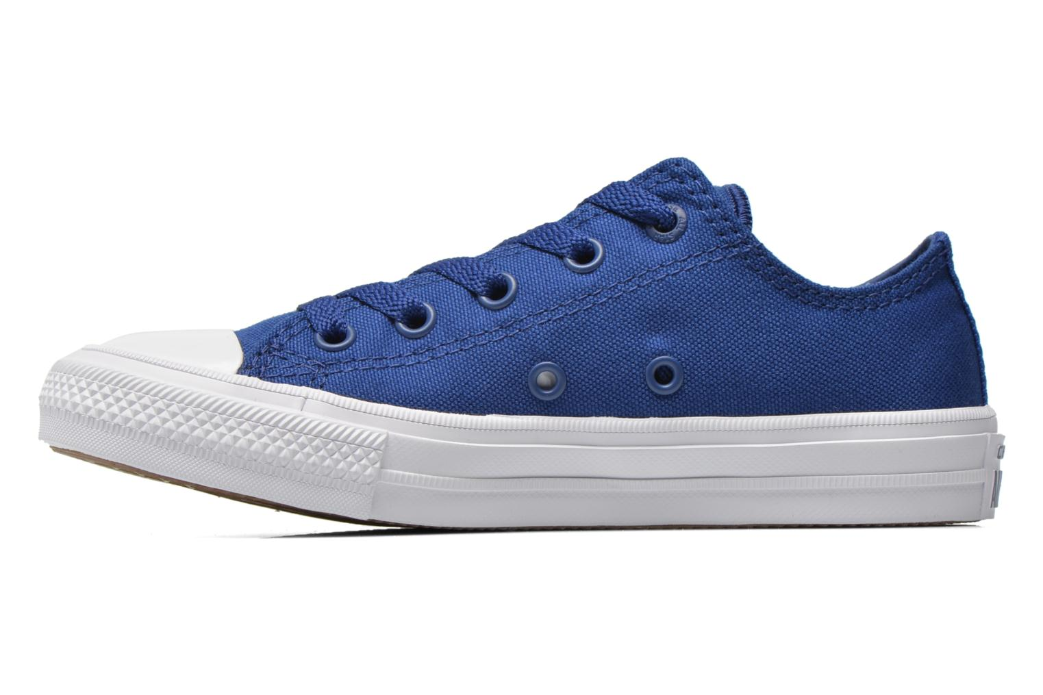 Trainers Converse Chuck Taylor All Star II Ox Blue front view