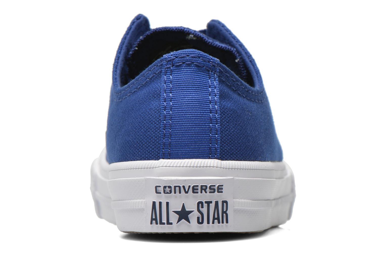 Baskets Converse Chuck Taylor All Star II Ox Bleu vue droite