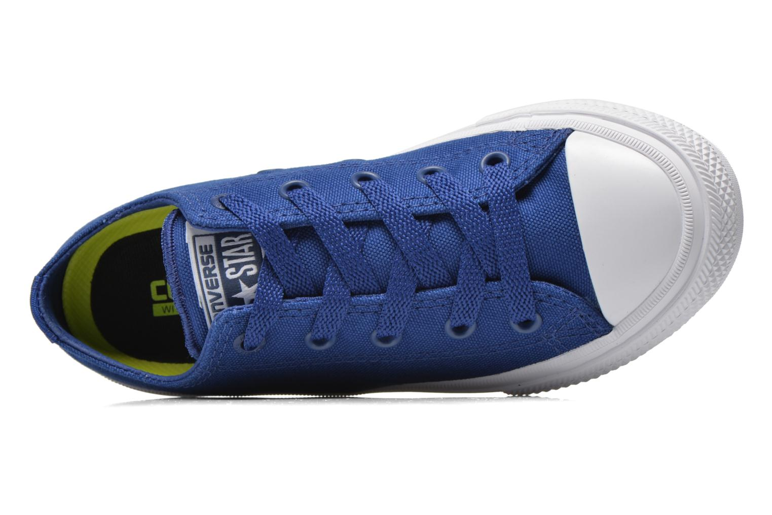 Trainers Converse Chuck Taylor All Star II Ox Blue view from the left
