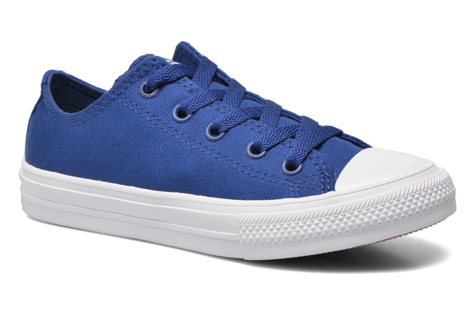 Trainers Converse Chuck Taylor All Star II Ox Blue detailed view/ Pair view