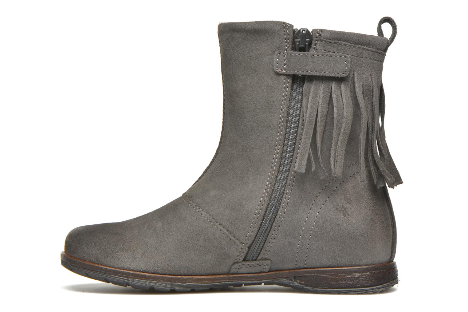 Bottines et boots Stones and Bones Stasa Gris vue face