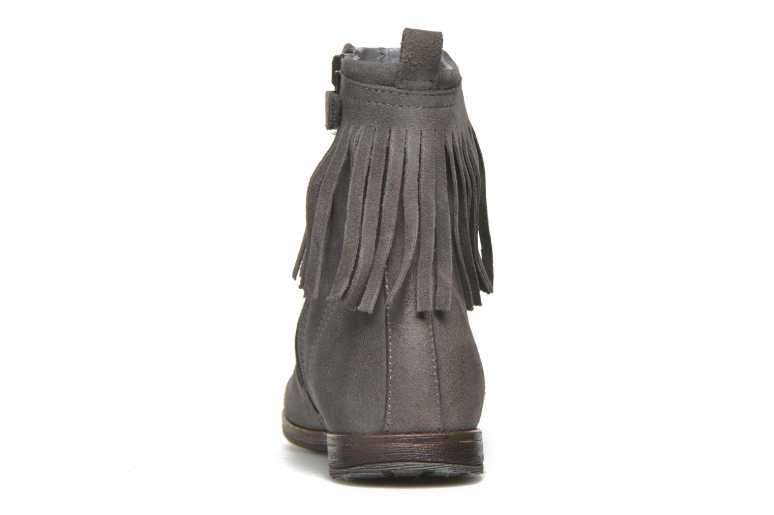 Ankle boots Stones and Bones Stasa Grey view from the right