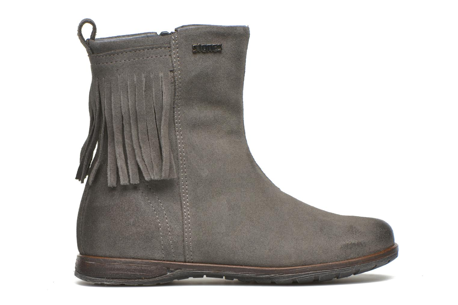Ankle boots Stones and Bones Stasa Grey back view