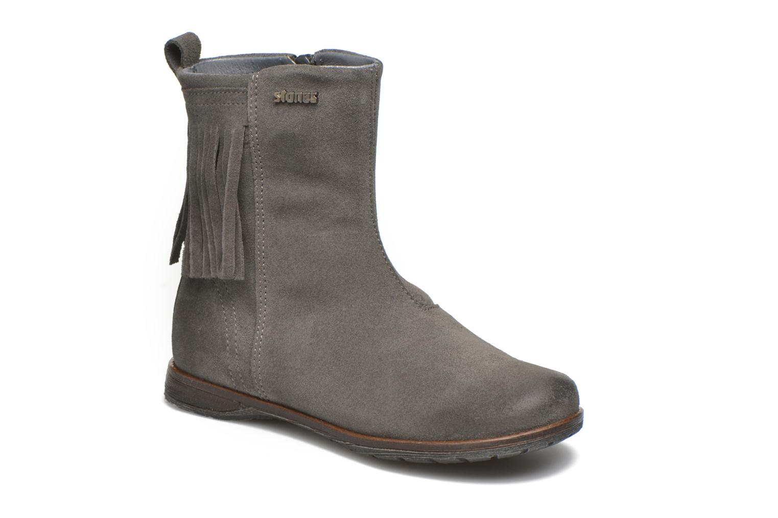 Ankle boots Stones and Bones Stasa Grey detailed view/ Pair view