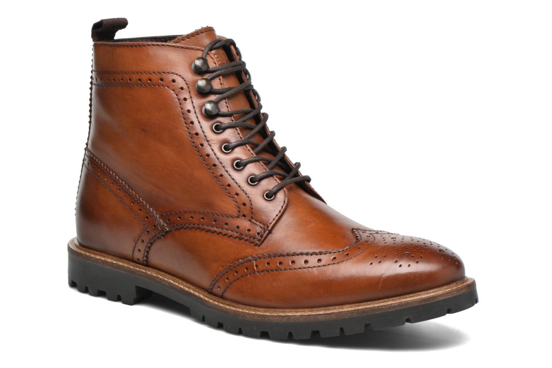 Bottines et boots Base London Troop Marron vue détail/paire