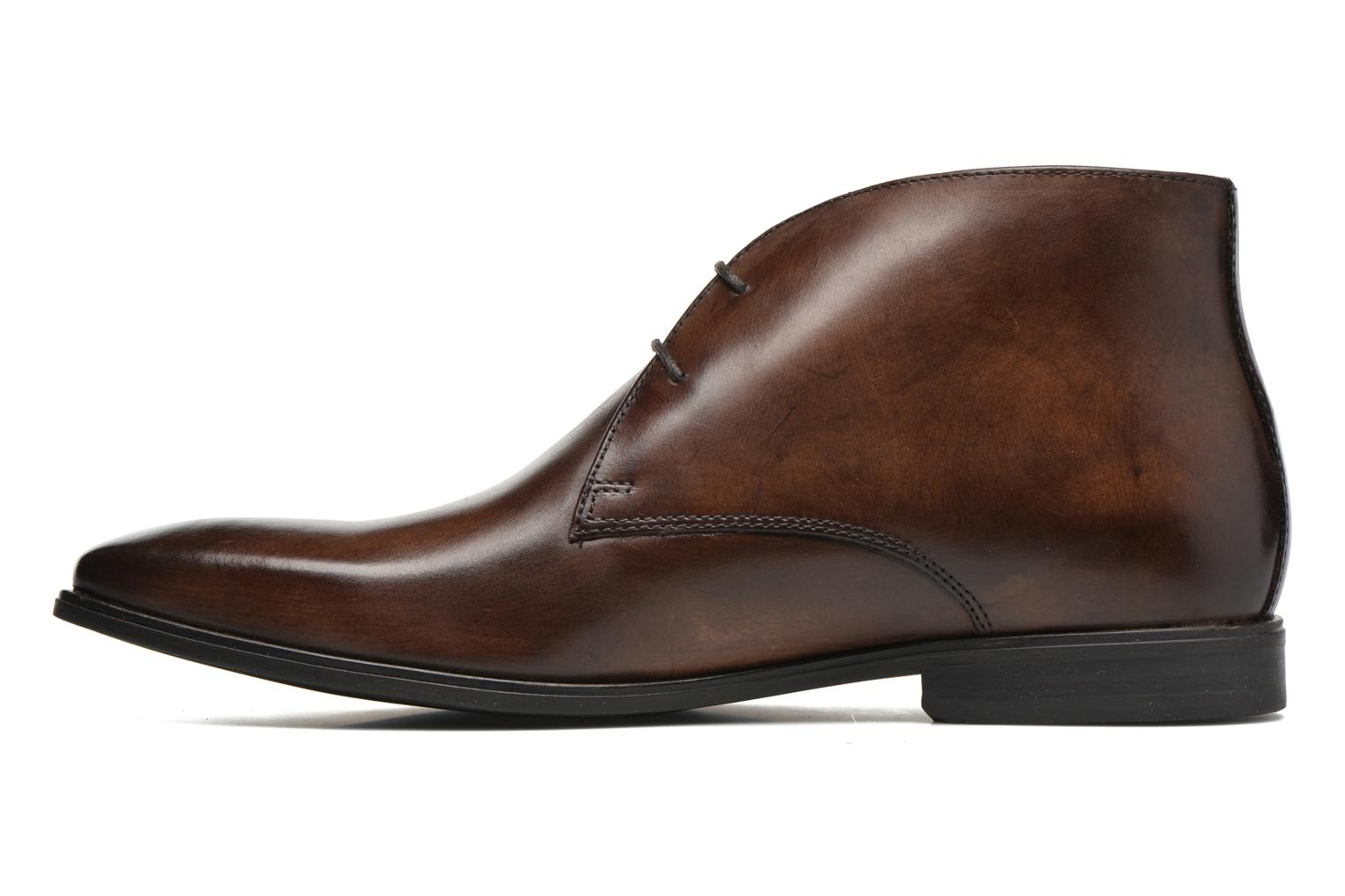 Lace-up shoes Base London Henry Brown front view