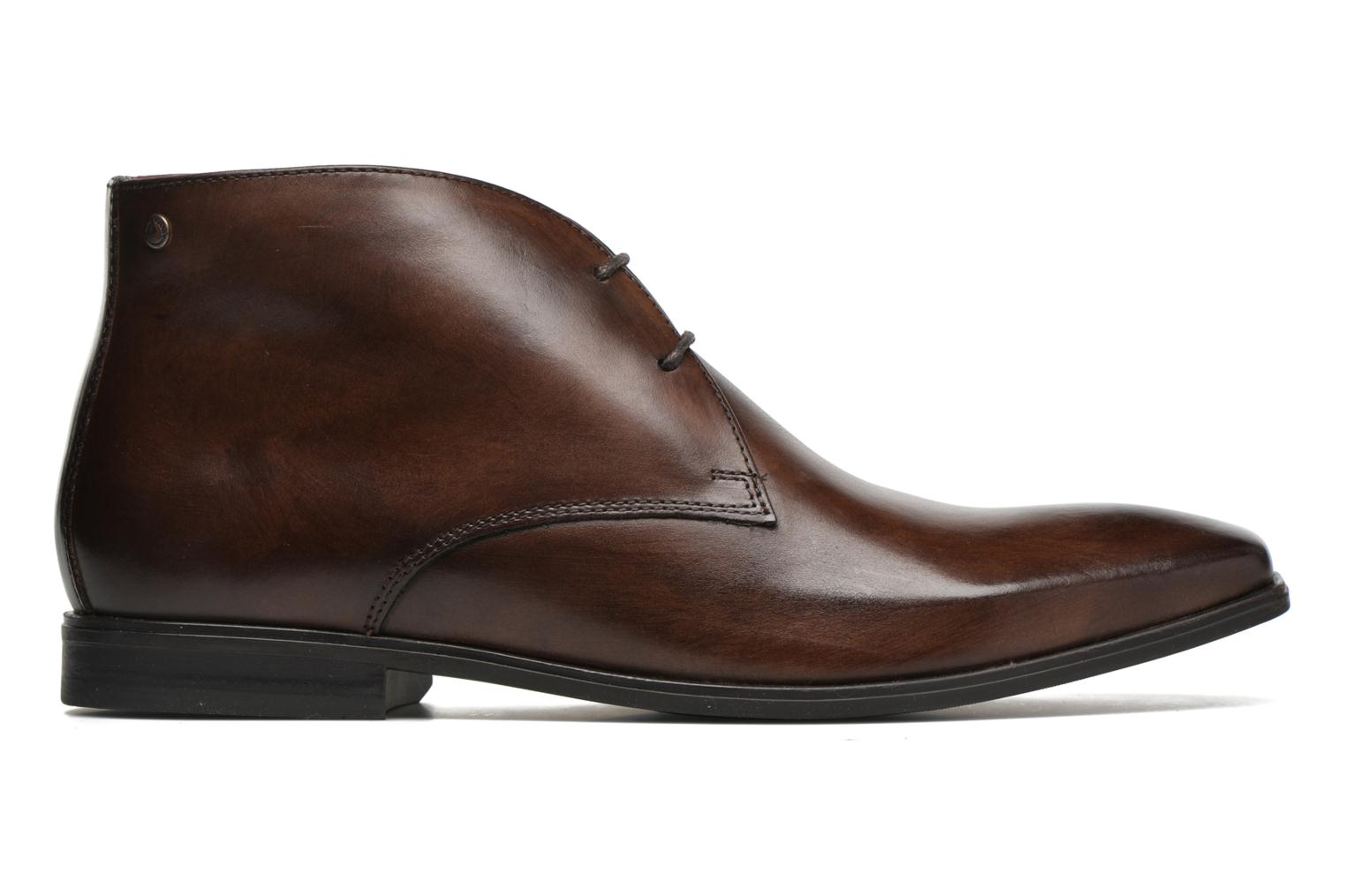 Lace-up shoes Base London Henry Brown back view