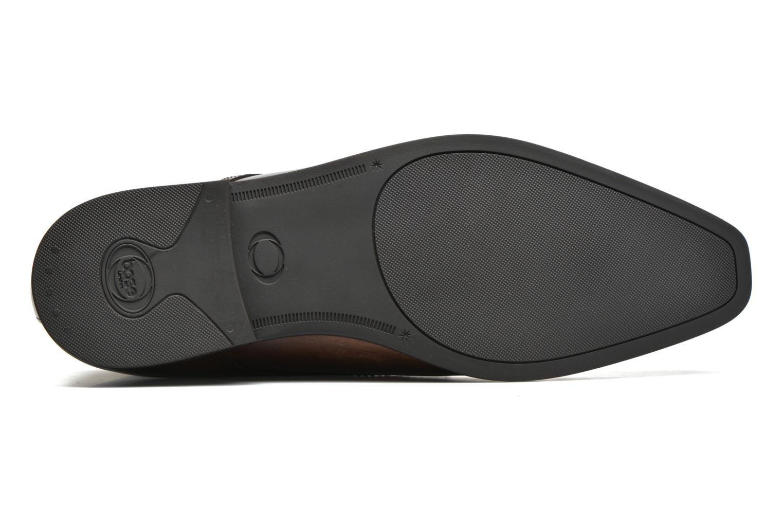 Chaussures à lacets Base London Henry Marron vue haut