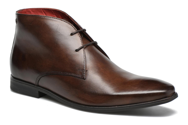 Chaussures à lacets Base London Henry Marron vue détail/paire