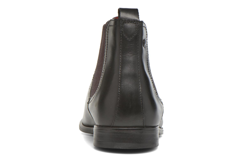 Bottines et boots Base London William Noir vue droite