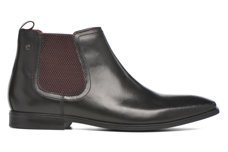 Bottines et boots Base London William Noir vue derrière
