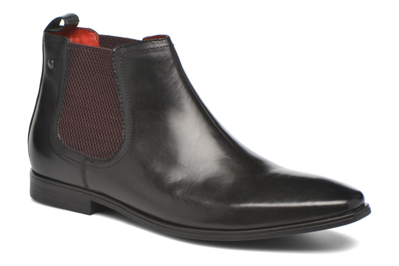 Bottines et boots Base London William Noir vue détail/paire