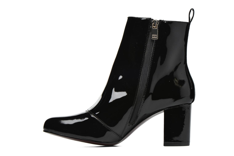 Bottines et boots Tommy Hilfiger GIGI ELESTIC BOOTIE Noir vue face