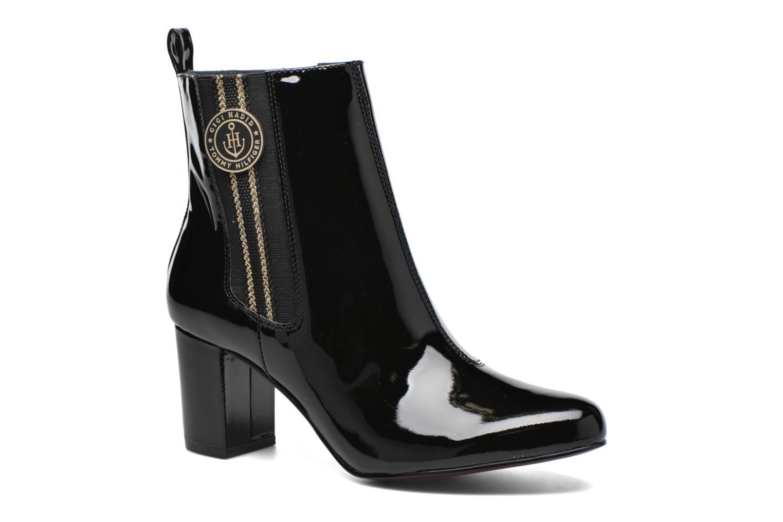 Bottines et boots Tommy Hilfiger GIGI ELESTIC BOOTIE Noir vue détail/paire