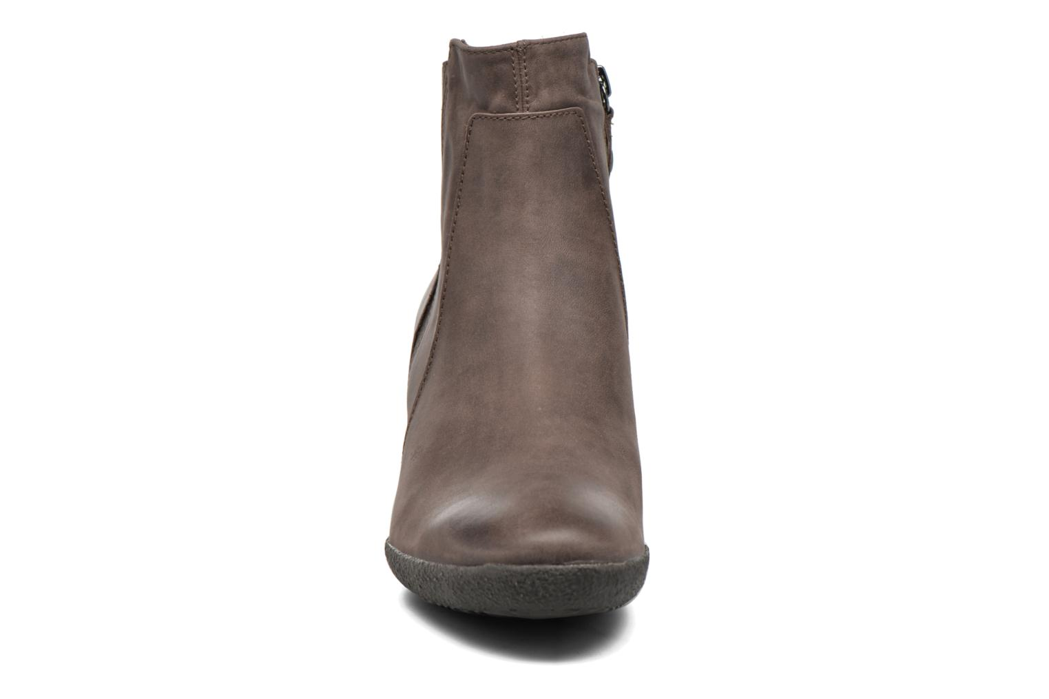 Ankle boots Geox D AMELIA ST B D6479B Brown model view