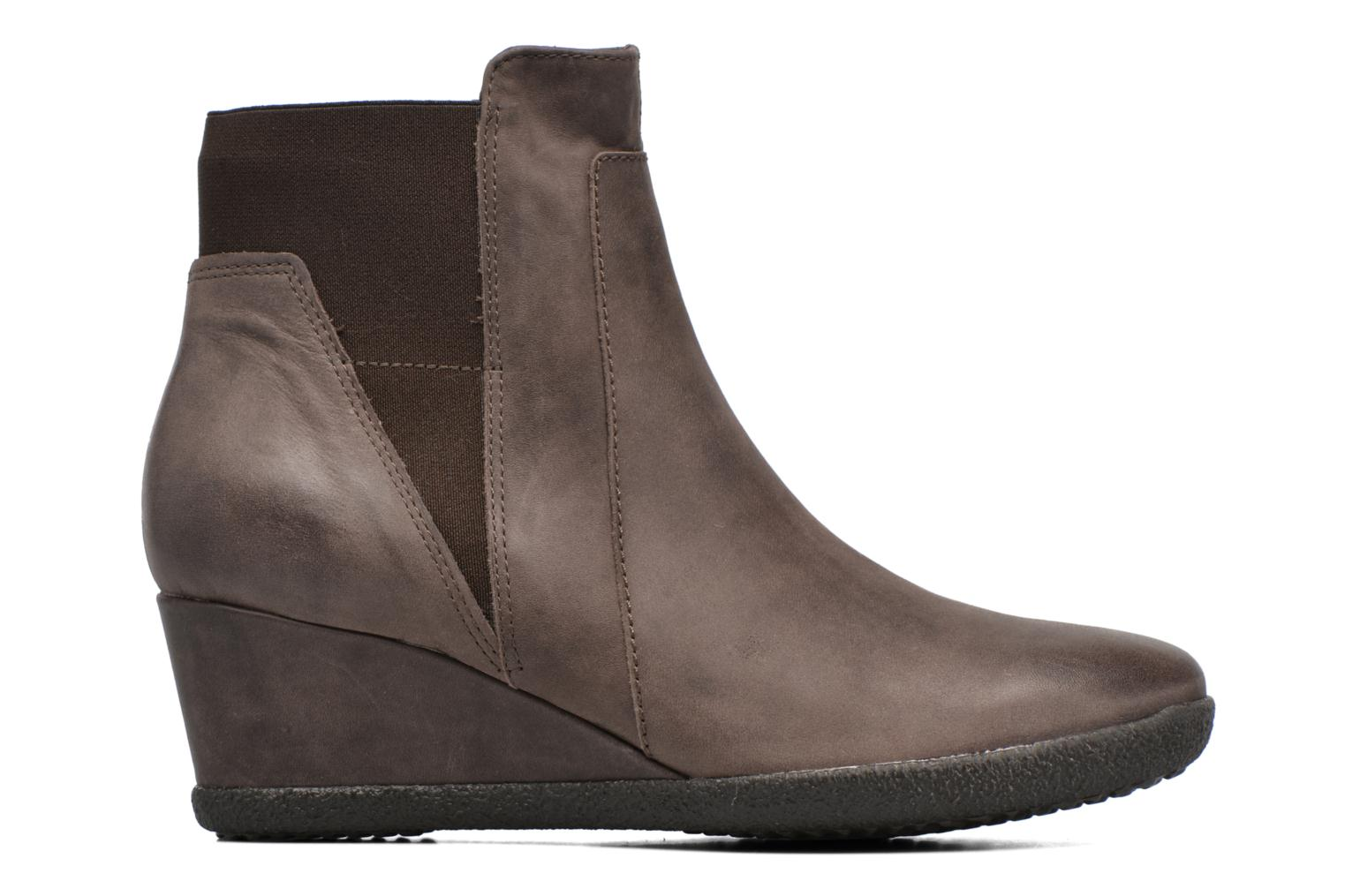 Ankle boots Geox D AMELIA ST B D6479B Brown back view
