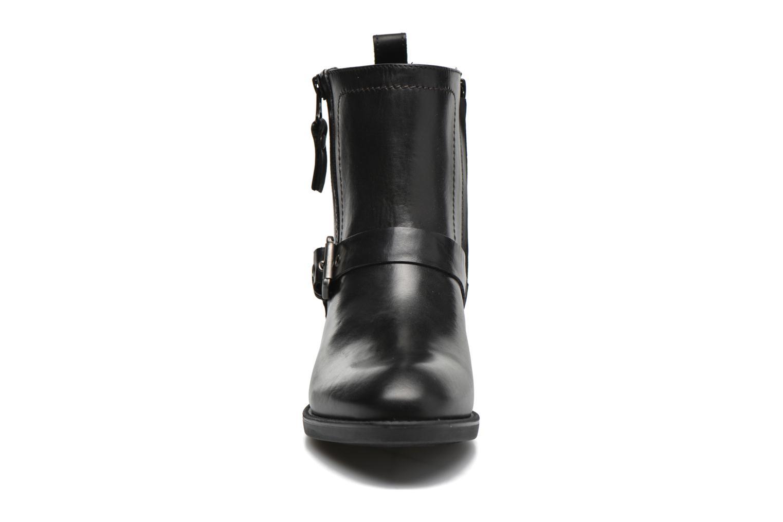 Bottines et boots Geox D FELICITY ABX A D64X9A Noir vue portées chaussures