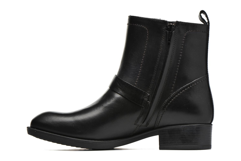 Bottines et boots Geox D FELICITY ABX A D64X9A Noir vue face