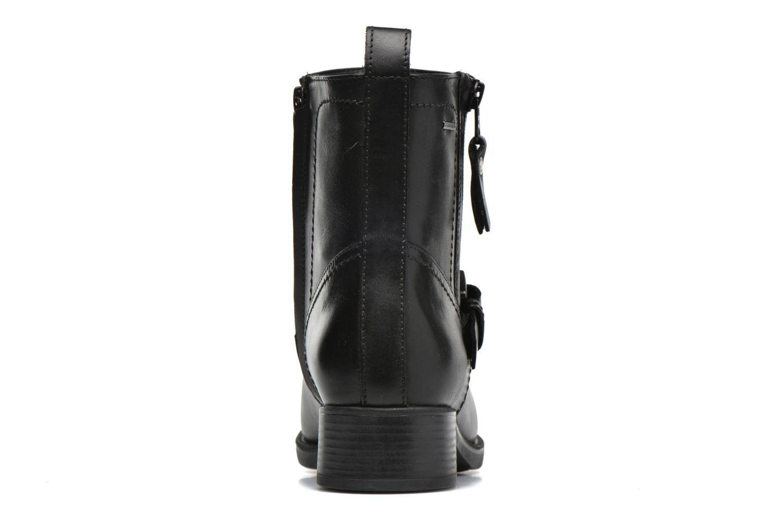 Bottines et boots Geox D FELICITY ABX A D64X9A Noir vue droite