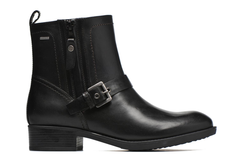 Bottines et boots Geox D FELICITY ABX A D64X9A Noir vue derrière
