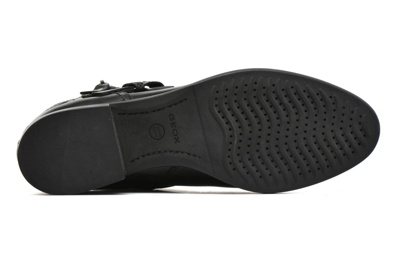 Bottines et boots Geox D FELICITY ABX A D64X9A Noir vue haut