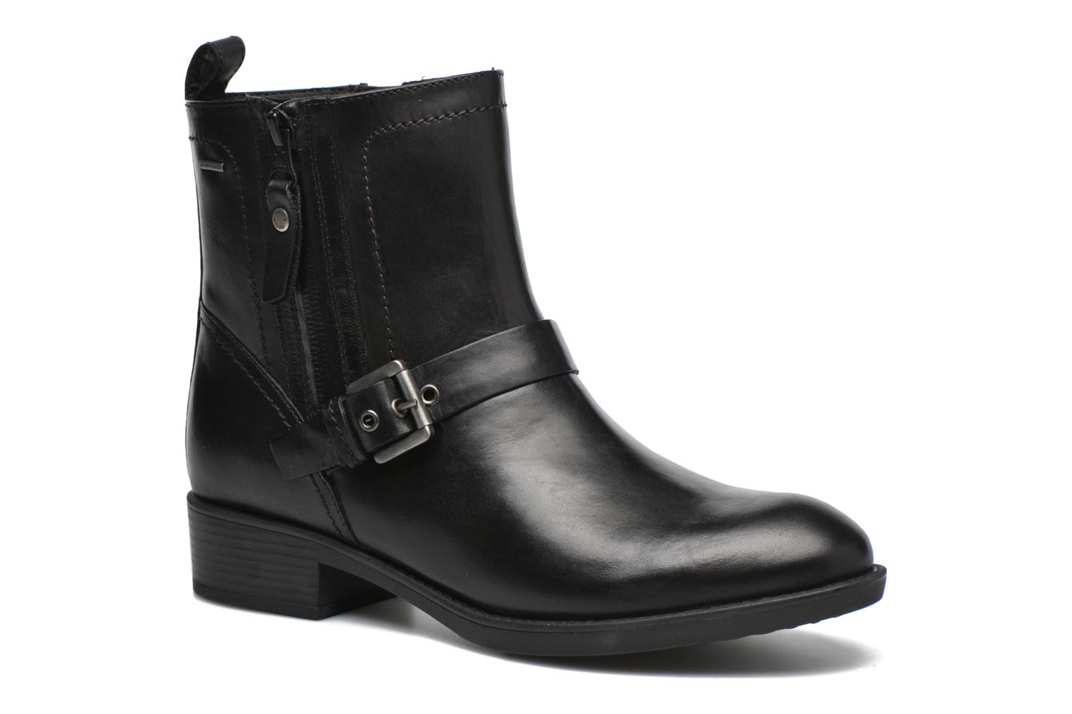 Ankle boots Geox D FELICITY ABX A D64X9A Black detailed view/ Pair view