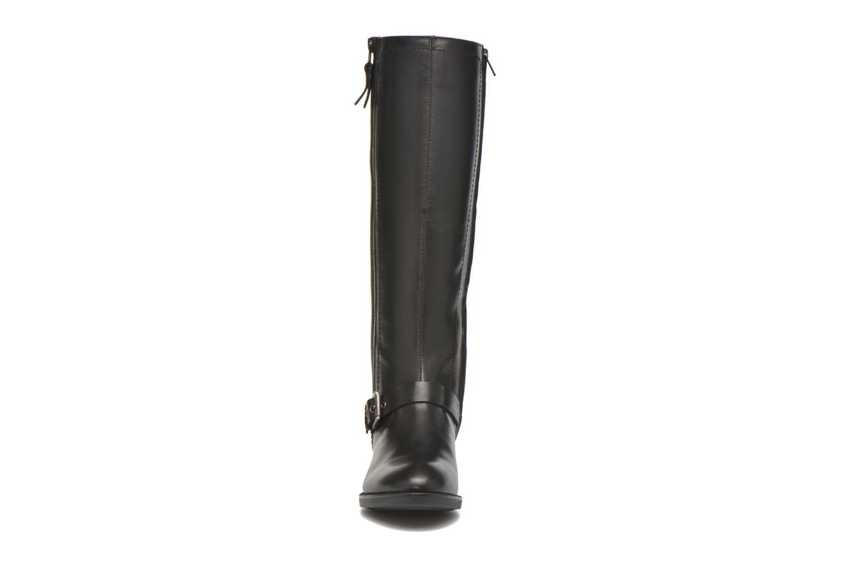Bottes Geox D FELICITY ABX B D64X9B Noir vue portées chaussures