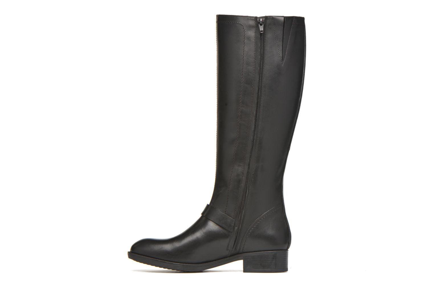 Boots & wellies Geox D FELICITY ABX B D64X9B Black front view