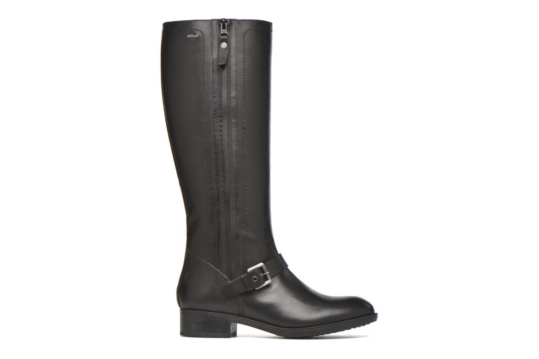Boots & wellies Geox D FELICITY ABX B D64X9B Black back view
