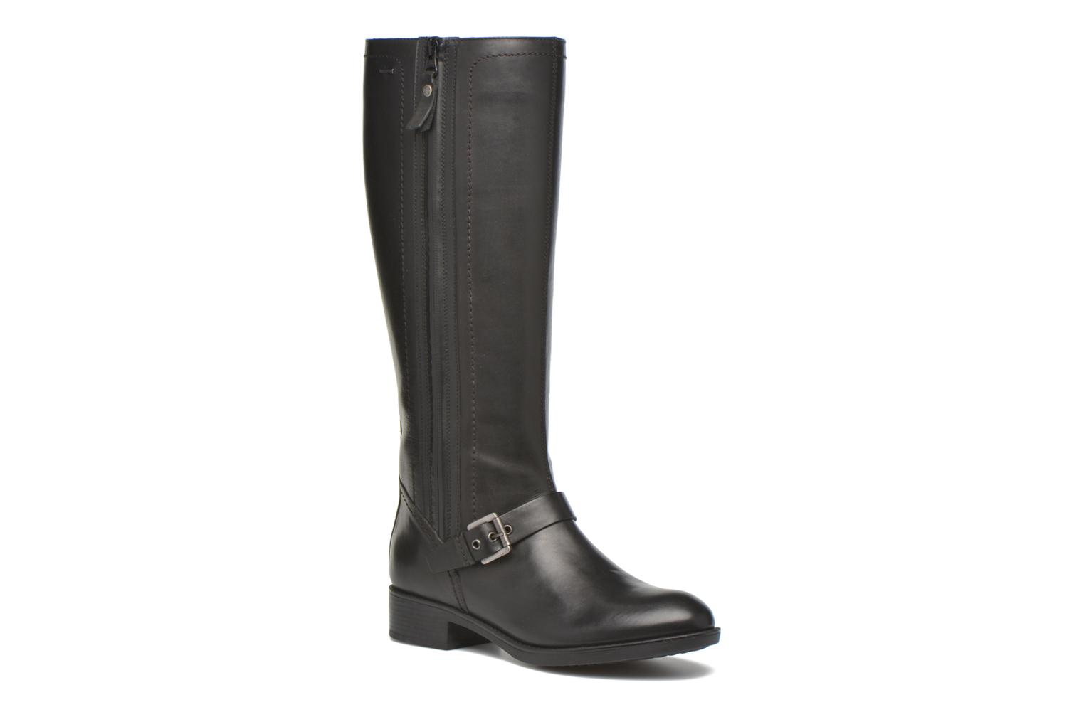 Boots & wellies Geox D FELICITY ABX B D64X9B Black detailed view/ Pair view