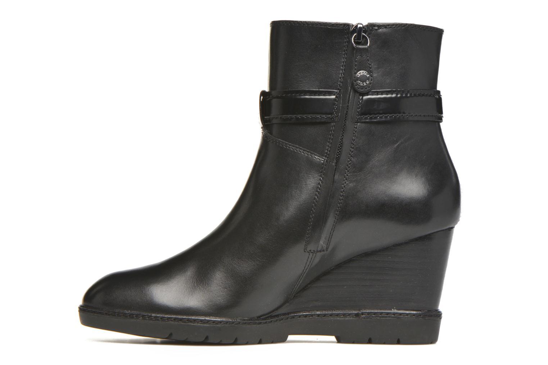 Stiefeletten & Boots Geox D JILSON C D640DC schwarz ansicht von vorne