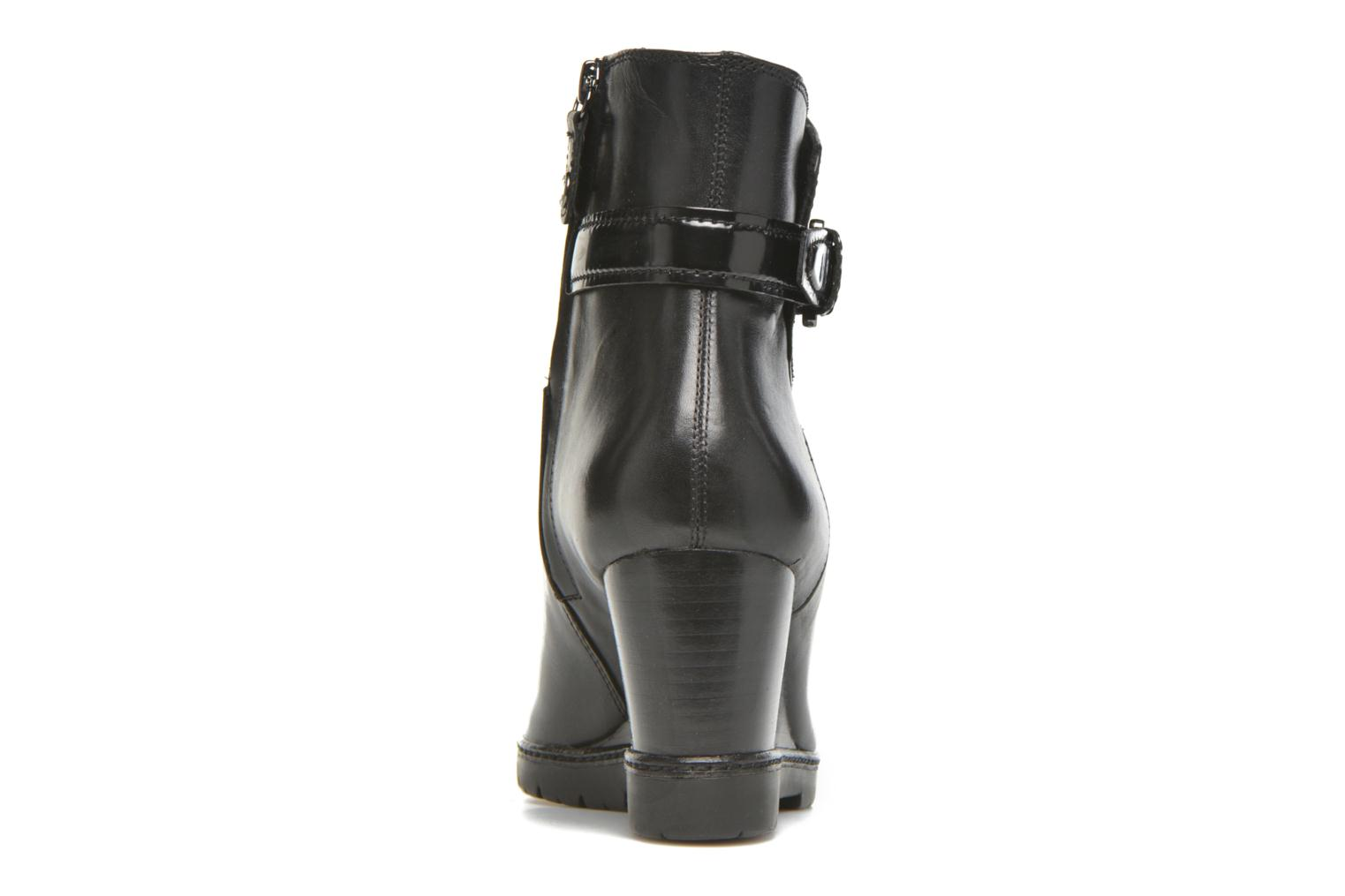 Ankle boots Geox D JILSON C D640DC Black view from the right