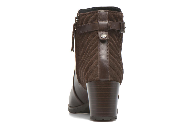 Bottines et boots Geox D LISE ABX A D64D1A Marron vue droite
